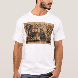 Grab-Malerei auf Papyrus T-Shirt