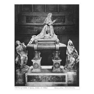 Grab von Jean-Baptiste Colbert de Torcy Postkarte