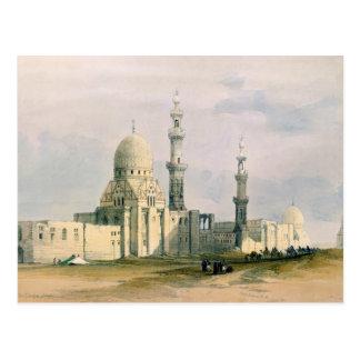 Grab von Sultan Qansuh Abu Sa ` Identifikation, Postkarte