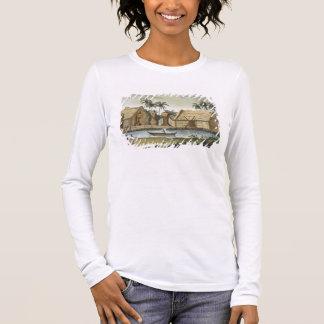 Grab von Tamahamah bei Kaiakakooa, Langarm T-Shirt
