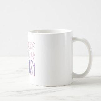 Graben Sie die Vergangenheit Kaffeetasse