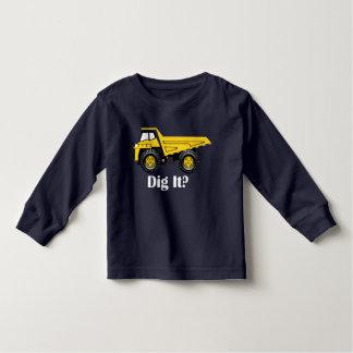 Graben Sie es? - Kleinkind-langes Hülsen-T - Shirt