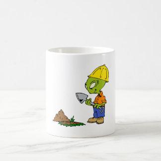 Grabenbauer-alien Kaffeetasse