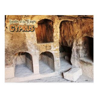 Gräber der Könige, Paphos, Zypern Postkarte