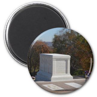 Grabmal des unbekannten Soldaten Arlington Runder Magnet 5,7 Cm