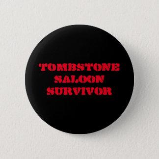 Grabstein-Abzeichen der Ehre Runder Button 5,7 Cm