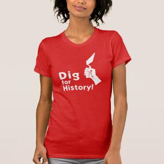 Grabung für Geschichte! Der T - Shirt der Frauen