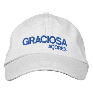 Graciosa Açores personalisierter Hut