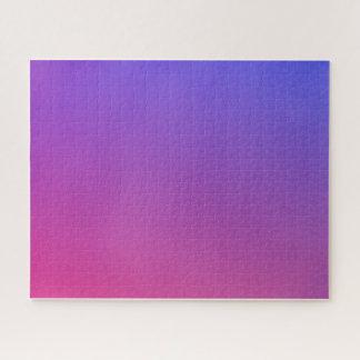 Gradient Purple Netz Puzzle