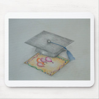 graduierte Einladung Mousepad
