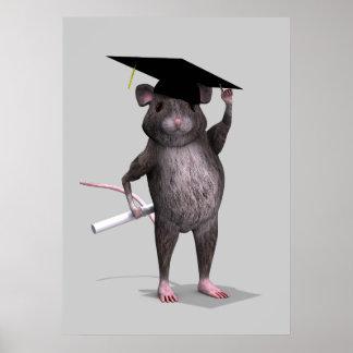 Graduierte Maus Plakatdruck