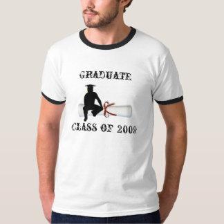 Graduierter Diplom-Mann Tshirts