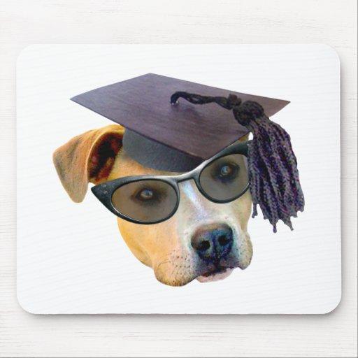 Graduierter Hund Mauspads