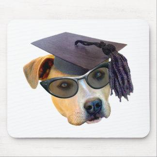 Graduierter Hund Mousepads