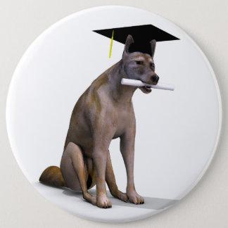 Graduierter Kojote Runder Button 15,3 Cm