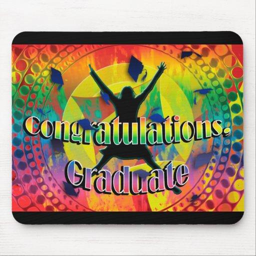Graduiertes Abschlussspaßgeschenk Mauspads