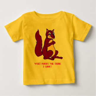 Graf das Eichhörnchen: Was lässt Sie i-Sorgfalt Baby T-shirt