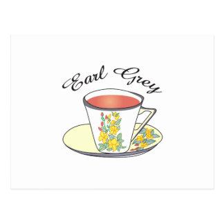 Graf-Tee Postkarte