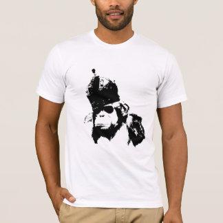 Graffiti-Affe-König T-Shirt