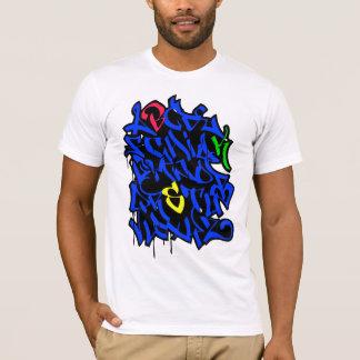 Graffiti-Alphabet T-Shirt