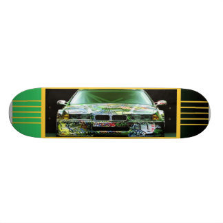 Graffiti-Auto-Skateboard 20,1 Cm Skateboard Deck