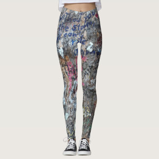 Graffiti-Baum-Kunst Leggings