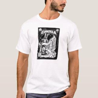 Graffiti - CANZILLA - Retro SciFi Monster Comic T-Shirt