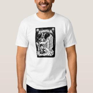 Graffiti - CANZILLA - Retro SciFi Monster Comic Tshirt