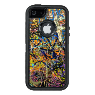 Graffiti-Hintergrund OtterBox iPhone 5/5s/SE Hülle