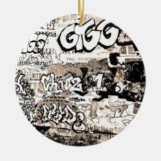 Graffiti Keramik Ornament