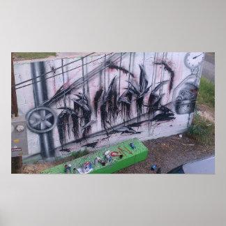 Graffiti-Plakat