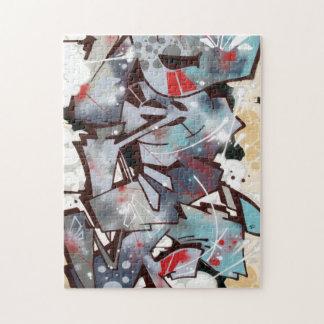 Graffiti-Puzzlespiel Puzzle
