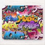 Graffiti-Straßen-Kunst Mousepad