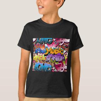 Graffiti-Straßen-Kunst T-Shirt