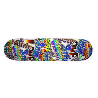 Graffiti-Text-Brett Individuelle Skateboarddecks