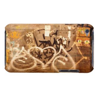 Graffiti ummauern im Schmutz, New York City Case-Mate iPod Touch Case