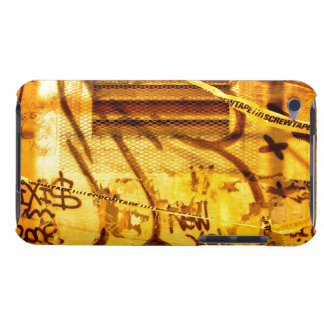 Graffiti ummauern im Schmutz, New York City iPod Touch Case-Mate Hülle