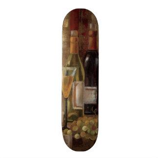 Graffiti und Wein 19,1 Cm Old School Skateboard Deck