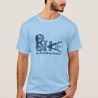 Graffiti von den Fahrrad-Teilen mit motivierend T-Shirt