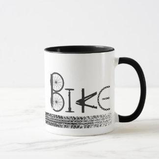 Graffiti von den Fahrrad-Teilen mit Reifen-Bahnen Tasse