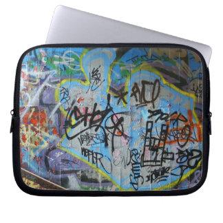 Graffitiwand-Laptopabdeckung Laptop Sleeve