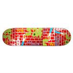 Graffitti Spritzlackierverfahren Skateboard Individuelle Skateboarddecks