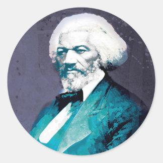 Grafik-Depot - Frederick Douglass Porträt Runder Aufkleber