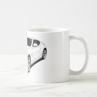 Grafik Nissans 370Z Kaffeetasse