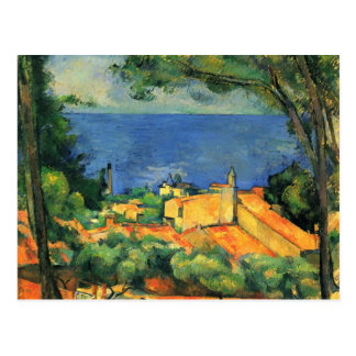 Grafik Pauls Cezanne Postkarte