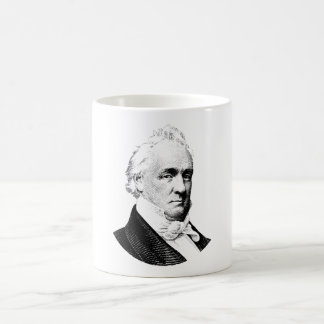 Grafik Präsidenten-James Buchanan Kaffeetasse