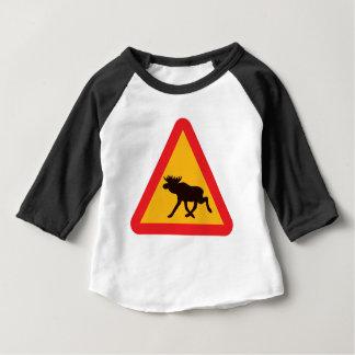 Grafikdesign der Elch-  Baby T-shirt