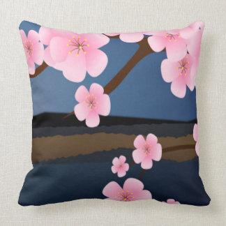 Grafikdesign der Kirschblüte Kissen