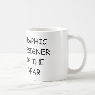 Grafikdesigner des Jahres Kaffeetasse
