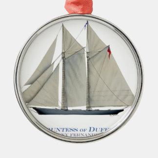 Gräfin 1876 von Dufferin Silbernes Ornament